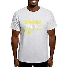 Funny Marta T-Shirt