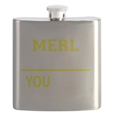 Unique Merl Flask