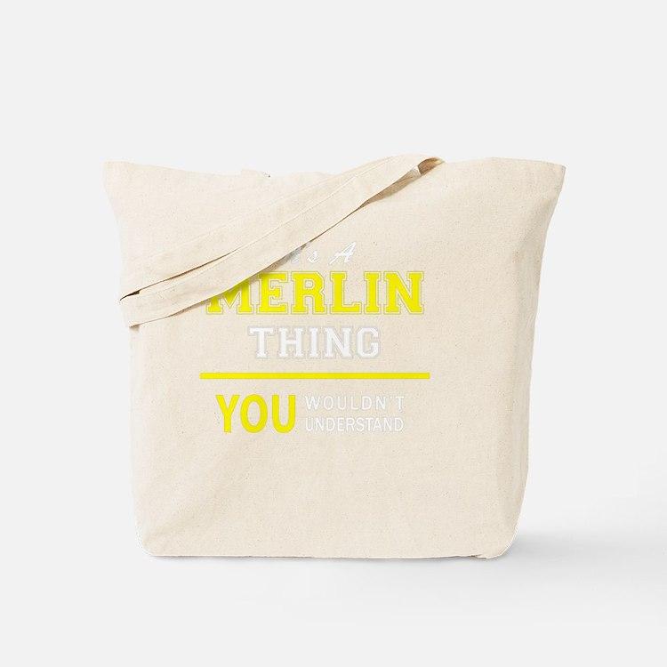 Cute Merlin Tote Bag