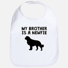 My Brother Is A Newfie Bib