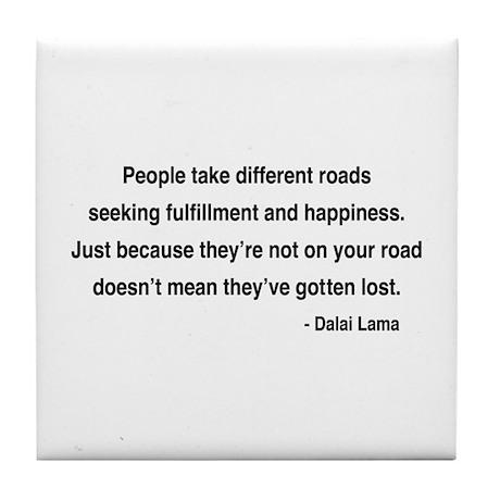 Dalai Lama 2 Tile Coaster