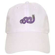 The Purple Worm Baseball Baseball Cap