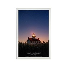 East Point Lighthouse Rectangle Magnet Magnets