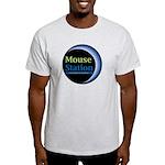 MouseStation logo Light T-Shirt