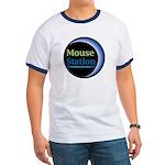 MouseStation logo Ringer T-shirt