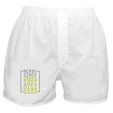 Nerdy Since 1973 Boxer Shorts