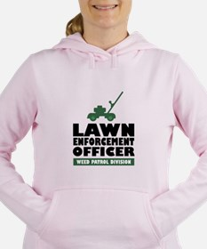 Lawn Enforcement Women's Hooded Sweatshirt