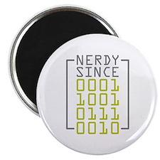 Nerdy Since 1972 Magnet