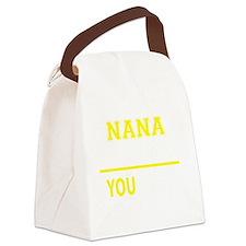 Cute Nana Canvas Lunch Bag