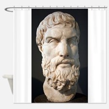 epicurus Shower Curtain