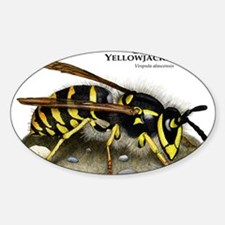 Cute Wasp Decal