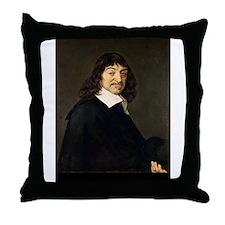 rene descarte Throw Pillow