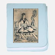 confucius baby blanket