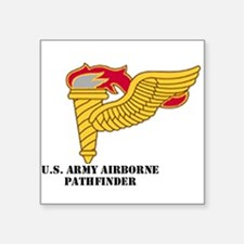 "Cool Army rangers Square Sticker 3"" x 3"""