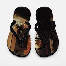 louis pasteur Flip Flops