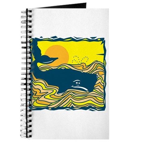 Swimming in Waves Whale Design Journal