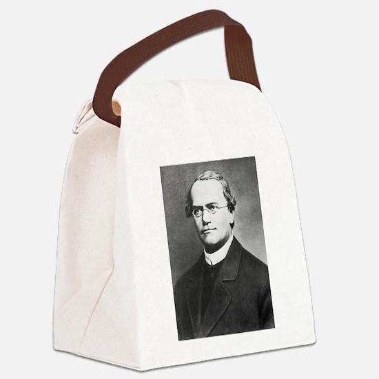gregor mendel Canvas Lunch Bag