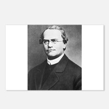 gregor mendel Postcards (Package of 8)