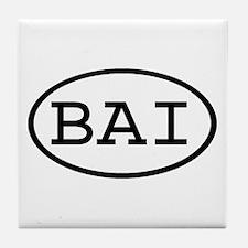BAI Oval Tile Coaster