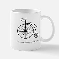 Bicycle Tracks Mugs