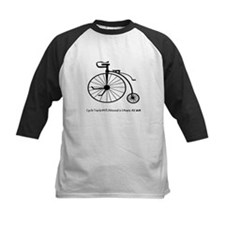 Bicycle Tracks Baseball Jersey