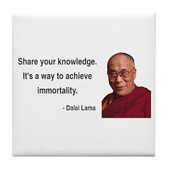 Dalai Lama 3 Tile Coaster