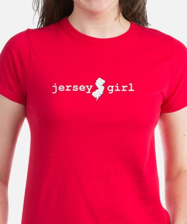 "Women's ""Jersey Girl"" T-Shirt"