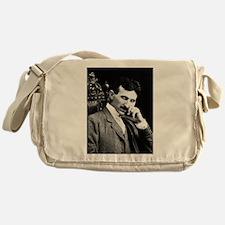 nicola tesla Messenger Bag