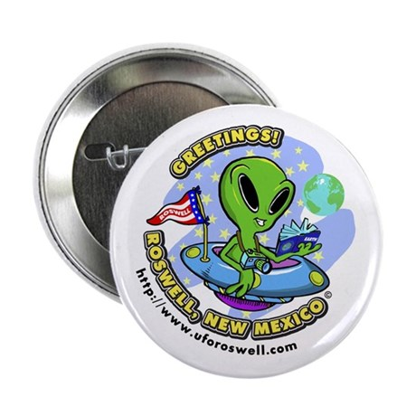 """Greetings! 2.25"""" Button (100 pack)"""
