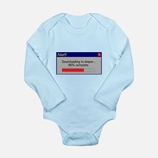 Downloading... Long Sleeve Infant Bodysuit