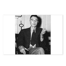 robert oppenheimer Postcards (Package of 8)