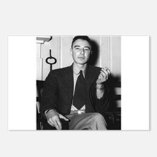 robert oppenheimer Postcards (Package of 8)