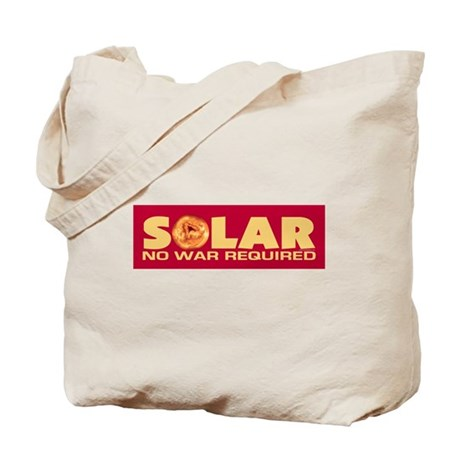 Solar - No War Required Tote Bag