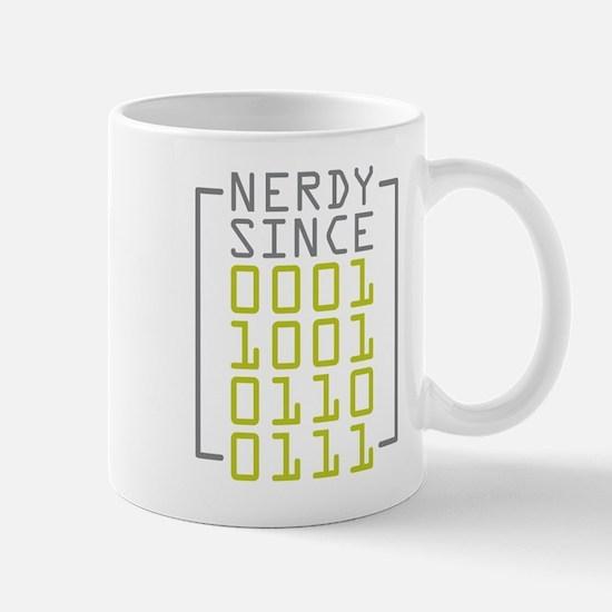 Nerdy Since 1967 Mug