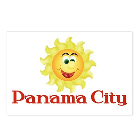 Panama City Postcards (Package of 8)