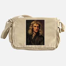 sir isaac newton Messenger Bag