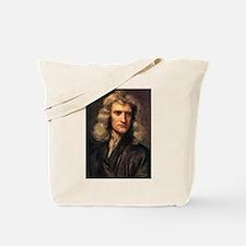 sir isaac newton Tote Bag