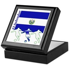 El Salvador Soccer Keepsake Box