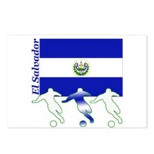 El Salvador Soccer Postcards (Package of 8)