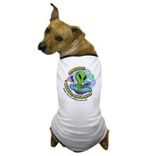 Roswell Alien Greetings! Dog T-Shirt