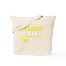 Cute Pranav Tote Bag