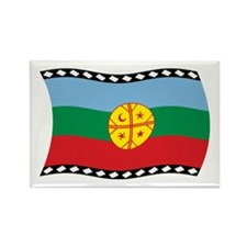 Mapuches Flag 2 Rectangle Magnet (100 pack)