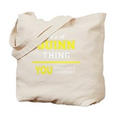 Cute Quinn Tote Bag