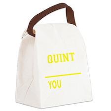 Unique Quint Canvas Lunch Bag