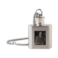 enrico fermi Flask Necklace