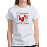 Bush bin Laden Ultimate Flip-Flop Women's T-Shirt