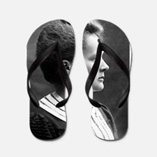 marie curie Flip Flops