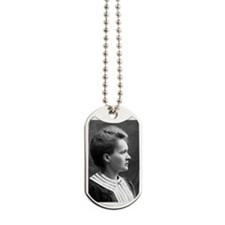 marie curie Dog Tags