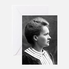 marie curie Greeting Cards