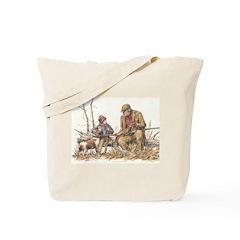 Grandpa and the Boy Tote Bag
